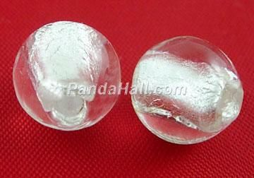 Glass Beads Silver Foil model 183 1